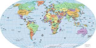 Algeria On World Map by World Map Pdf Roundtripticket Me