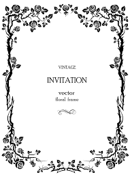 invitation borders free download floral border vector free download clip art free clip art on
