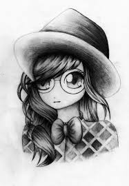 pictures cute girls pencil drawings drawing art gallery