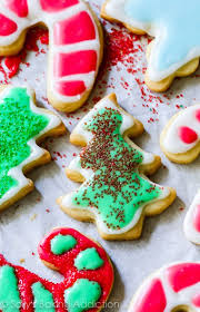 holiday cut out sugar cookies with easy icing sallys baking