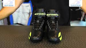 buy motorcycle shoes alpinestars faster waterproof shoes motorcycle superstore youtube