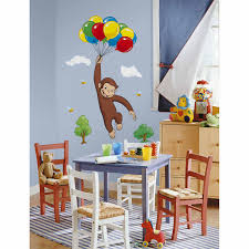 party supply guide curious george buy curious george giant wall decal