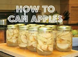 how to can apples u2013 home garden joy