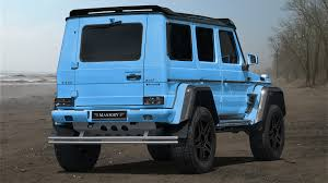 mercedes g500 pickup feel good again with the mansory tuned mercedes g500 4x4