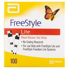 Lite by Freestyle Lite Test Strips 100 Ct Walmart Com