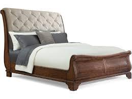 bedroom trisha yearwood dottie upholstered headboard sleigh bed king