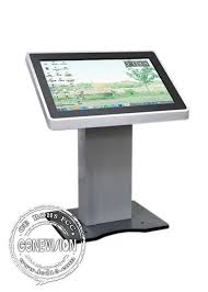 42 Inch Computer Desk Service Touch Screen Kiosk All In One Pc 42 Inch Electronic Kiosk