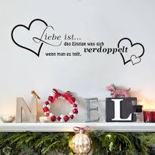 compare prices on german home decor online shopping buy low price love heart german artword waterproof vinyl wall quotes decal pvc home decor wall stickers