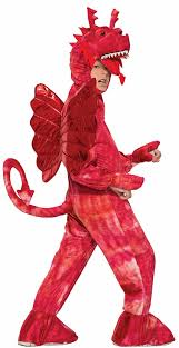 dragon halloween costume kids amazon com forum novelties kids red dragon costume red small