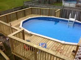pool deck ideas for above ground pools u2013 home improvement 2017
