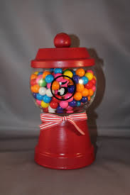 82 best crafts clay pot gumball machines images on pinterest