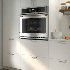 ikea kitchen wall oven cabinet konsistens wall oven with self cleaning stainless steel ikea