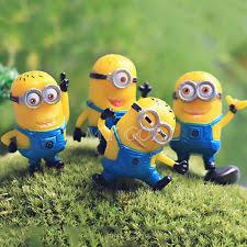 despicable me minion garden ornament miniature figurine dollhouse