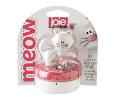 timer cuisine joie meow kitchen timer