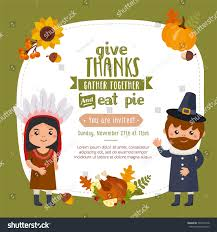 happy thanksgiving day greeting card design stock vector 503407318