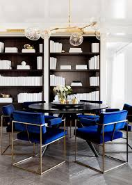Contemporary Black Dining Chairs Royal Blue Dining Chairs New Room With Regard To 8