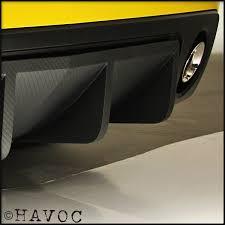2010 camaro rear diffuser rear diffuser