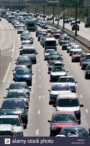 talence bordeaux heavy traffic jam on a69 motorway on