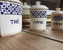 ceramic canisters etsy