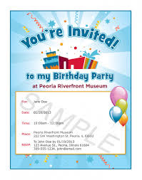 colors free birthday invitation card sample design with gray