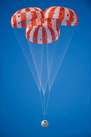 orion parachute system withstands failure test nasa