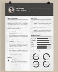 Graphic Design Resume Template 40 Best Free Resume Templates 2017 Psd Ai Doc