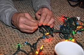 how to fix broken christmas lights just a strand of broken christmas lights