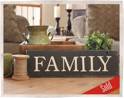 home decor family signs family sign bumbleberry cottage designs