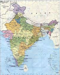 India States Map Detailed Map Of India With States You Can See A Map Of Many