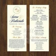 wedding ceremony program ideas wedding programs wedding ceremony programs wedding program ideas