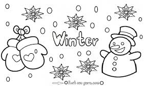 january coloring pages for kindergarten printable winter snowman coloring pages 9 colouring for kids 19288