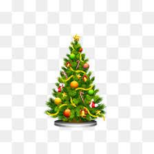 cartoon christmas tree vector christmas tree cartoon christmas