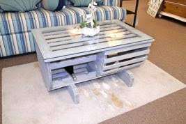 Lobster Trap Coffee Table by Living Room Tables