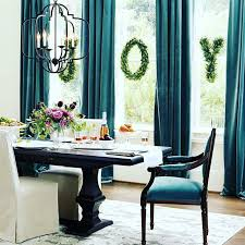 Top  Best Teal Curtains Ideas On Pinterest Curtain Styles - Teal dining room