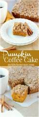 pumpkin coffee cake my kitchen craze
