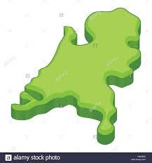Holland Map Holland Map Icon Cartoon Style Stock Vector Art U0026 Illustration