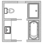 bathroom floor plan ideas floor plan options bathroom ideas planning bathroom kohler