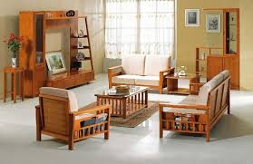 Furniture For A Living Room Modern Wooden Sofa Furniture Sets Designs For Small Living Room