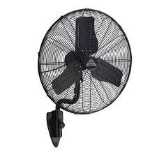 decorative wall mounted oscillating fans amazon com wet location fan w designer wall mount 24