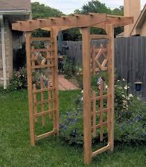 window style garden arbor