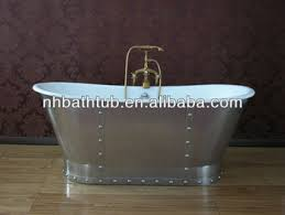 Buy Freestanding Bathtub Cast Iron Freestanding Bathtub With Stainless Steel Skirt Buy