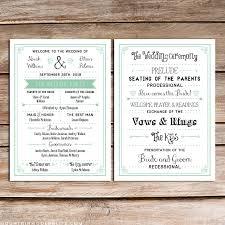 create wedding programs free printable wedding invitation template wedding programs