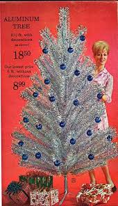 1960 s christmas tree lights view from the birdhouse did you know tuesday aluminum christmas trees