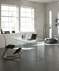 Home Office Glass Desks Clear Glass Desk Curved Glass Desk Modern Home Office Furniture In