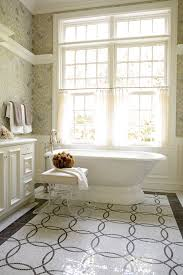 Bathroom Window Curtains Bathroom Window Curtains Bathroom Traditional With Bath Tub