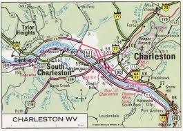 Road Map Virginia by Charleston Wv Road Map