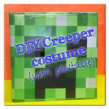 Minecraft Villager Halloween Costume Homemade Minecraft Halloween Costume Ideas Minecraft Steve Head