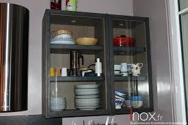 meuble de cuisine en verre portes pour meubles de cuisine meuble cuisine colonne four micro