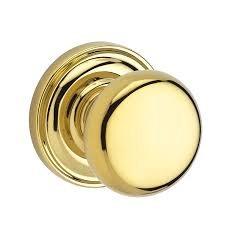 Baldwin Door Hardware Baldwin Pv Rou Trr 003 6l Ds Round Privacy Knob With Traditional