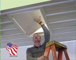 insulated attic access door 24
